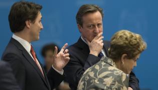 David Cameron na szczycie G20