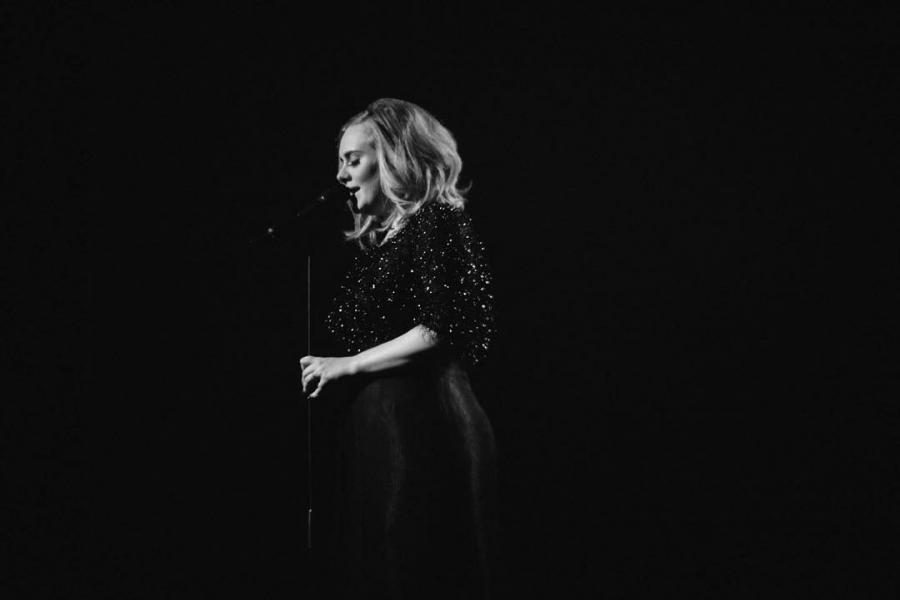 Adele zaśpiewała w Radio City Music Hall w Nowym Jorku