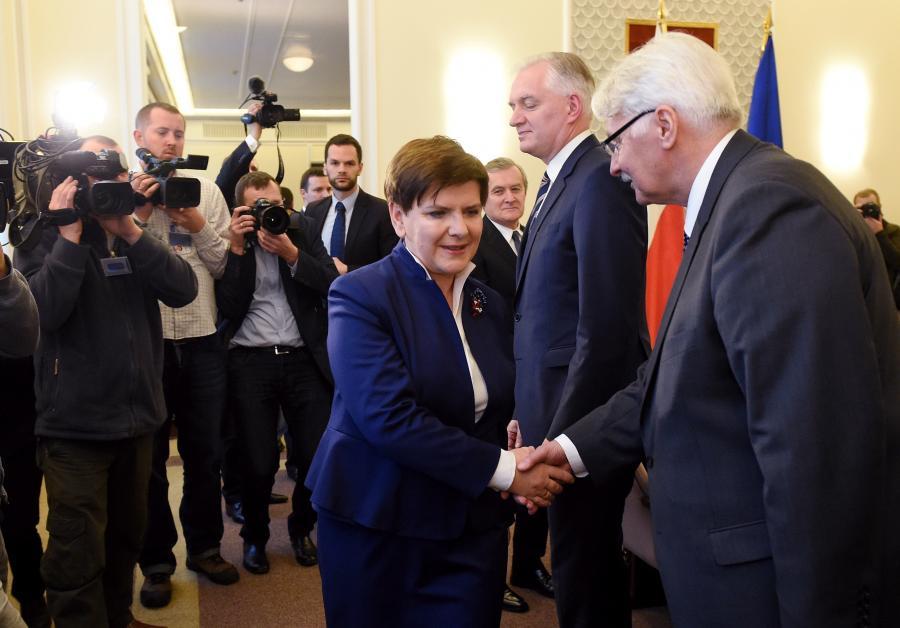 Pierwsze posiedzenie nowego rządu