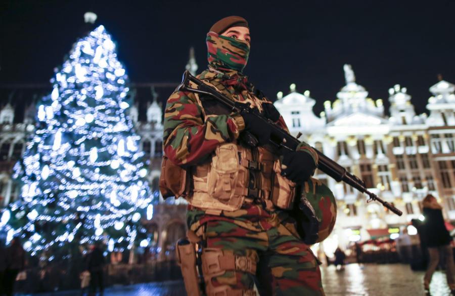 Patrol w Brukseli