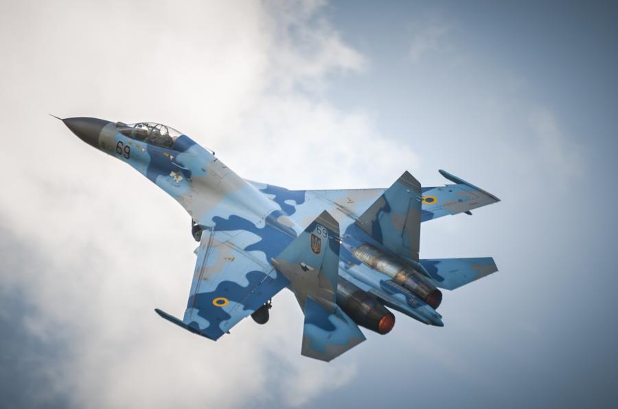 Rosyjski samolot Su-27