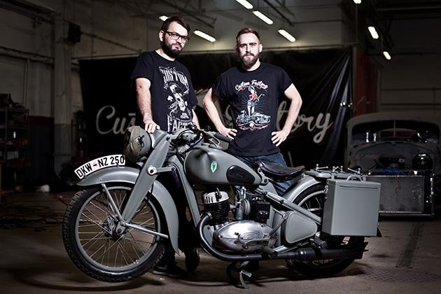 Motocykl DKW NZ-250. Reanimowali maszynę zdobytą na Wehrmachcie. ZDJĘCIA