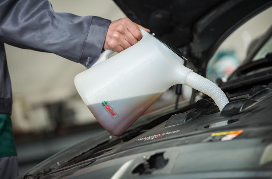 Jaki olej do silnika?