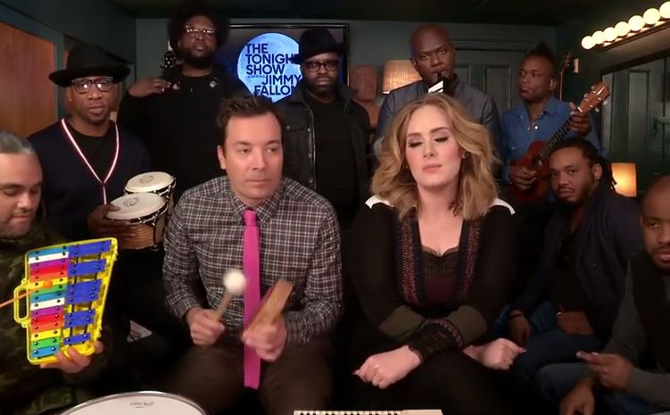 Jimmy Fallon, Adele i The Roots wykonują \