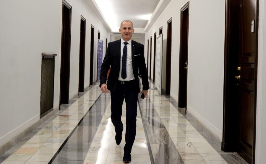 Szef klubu Platformy Obywatelskiej Sławomir Neumann