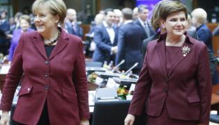 Angela Merkel i Beata Szydło
