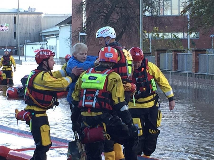 Powódź w Wielkiej Brytanii