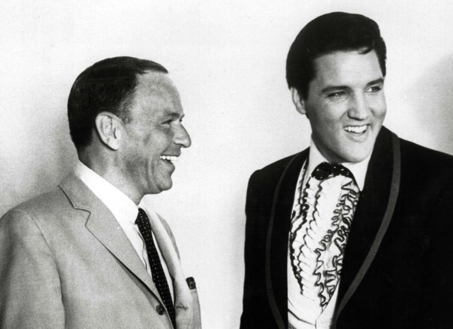 Frank Sinatra i Elvis Presley w 1965 roku