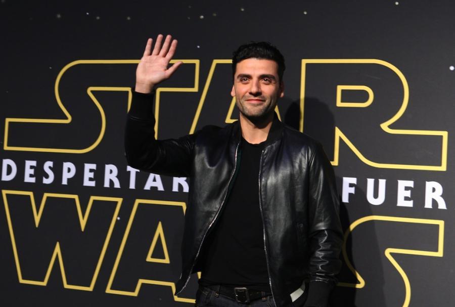 """Tymczasem Oscar Isaac promuje """"Gwiezdne wojny"""" w Meksyku..."""