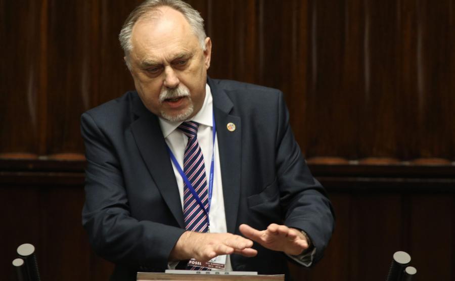 Poseł Janusz Sanocki w Sejmie