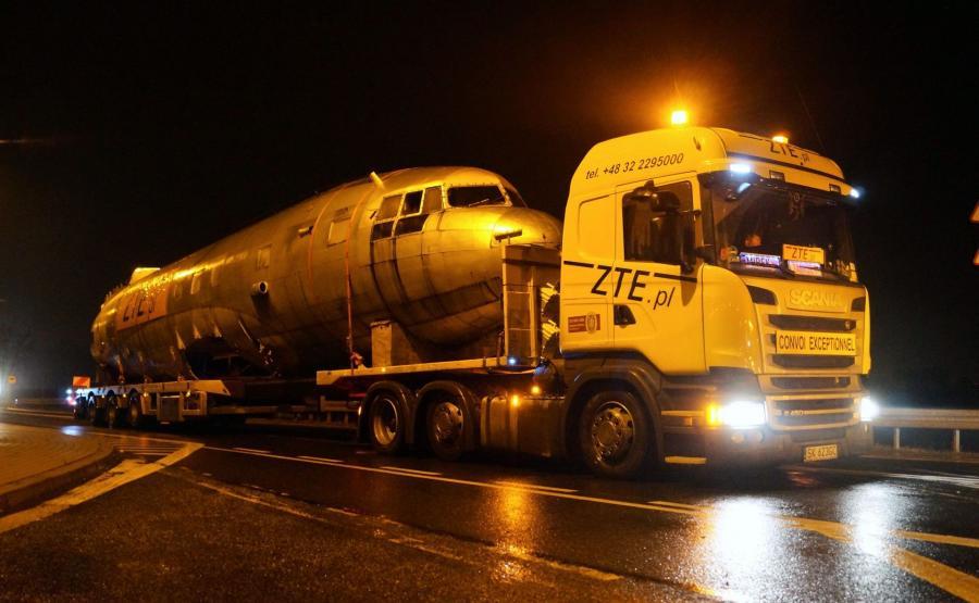 Transport samolotu Ił-14