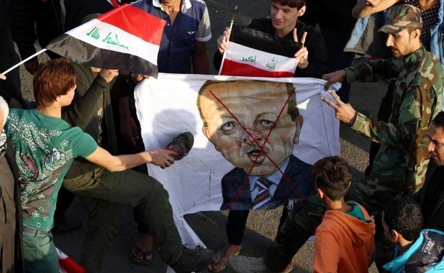 Antyturecka demonstracja w Bagdadzie