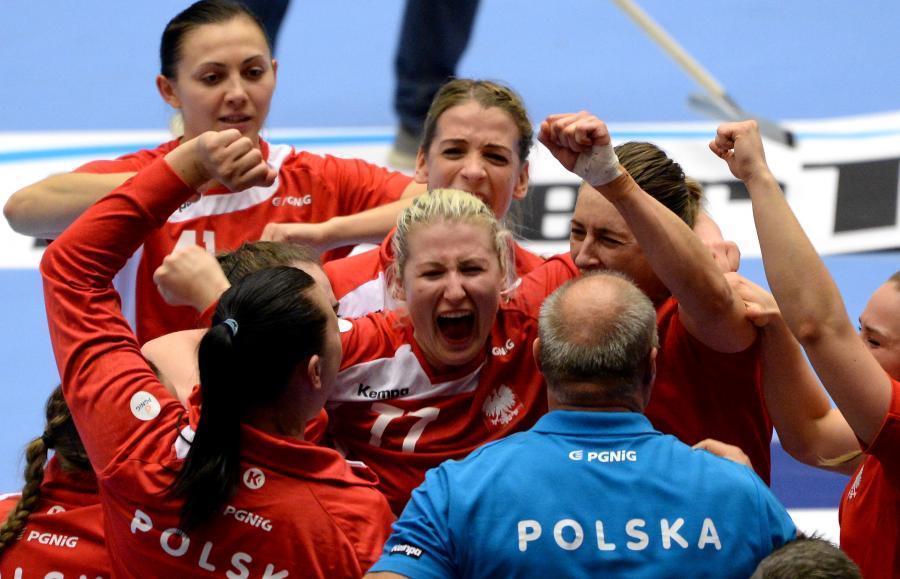 Radość polskich piłkarek ręcznych