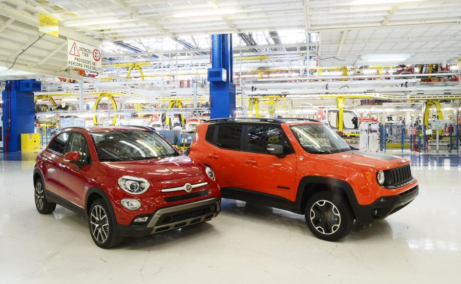 Fiat 500X i jeep renegade