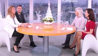 """Anna Kalczyńska i Manuela Gretkowska w """"Dzień Dobry TVN"""""""