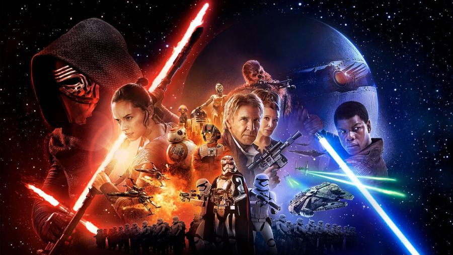 """9 . """"Gwiezdne wojny: Przebudzenie mocy"""" (reż. J.J. Abrams)"""