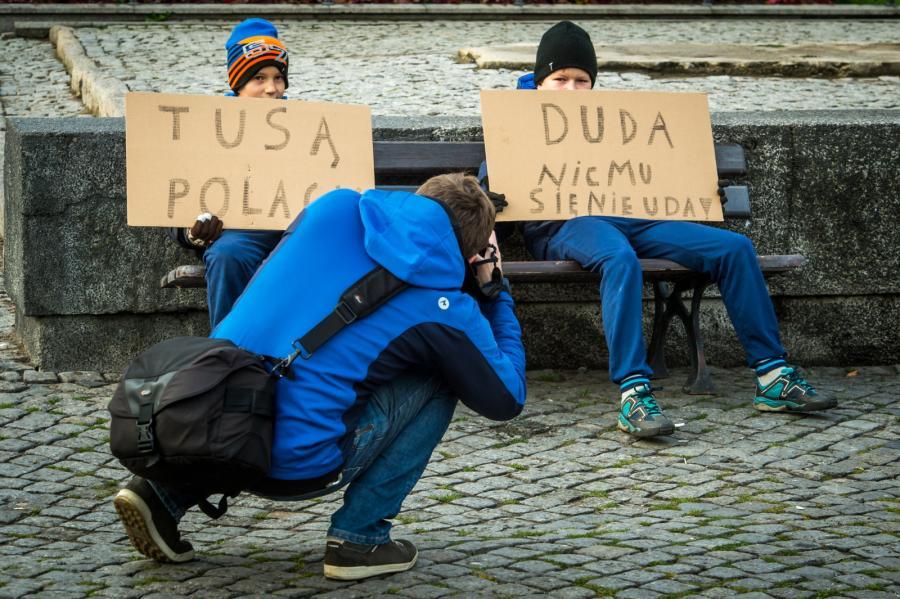 Manifestacja KOD