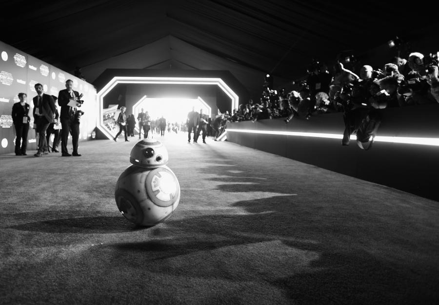 """BB8 premierze """"Gwiezdnych wojen"""""""