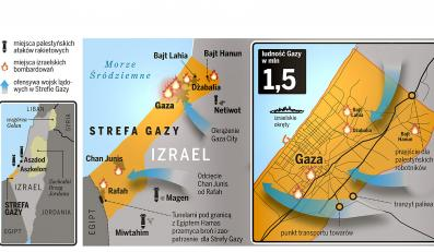 Gaza nadal płonie