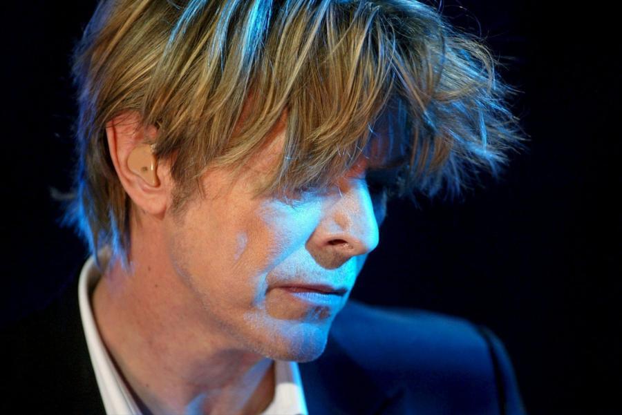 David Bowie na Montreux Jazz Festival w 2002 roku