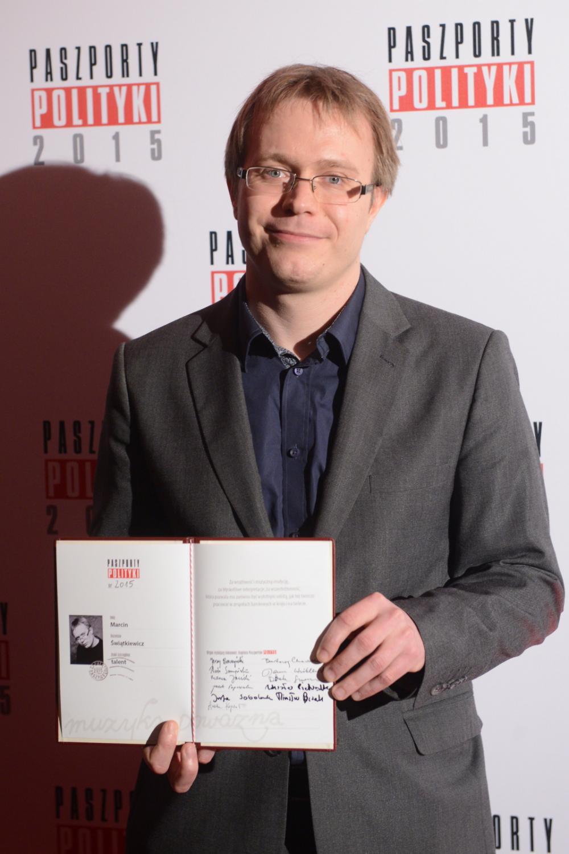 Laureaci Paszportów Polityki: Marcin Świątkiewicz