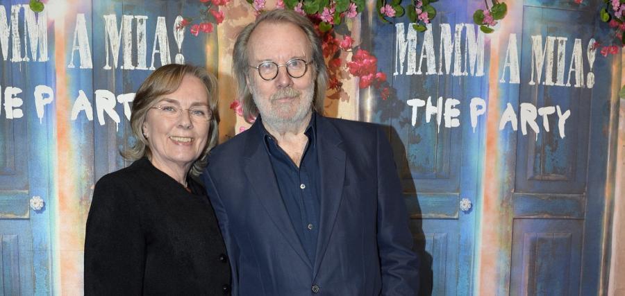 Benny Andersson i jego żona Mona Norklitt