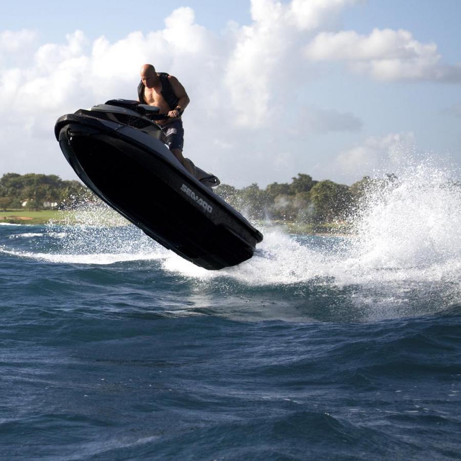 Vin Diesel w akcji...