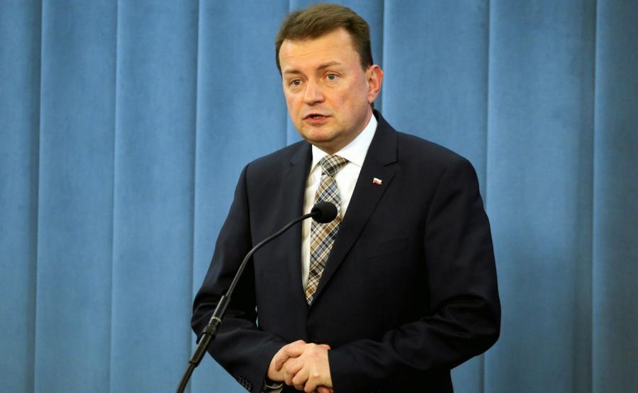 Mariusz Błasczak, minister spraw wewnętrznych i administracji