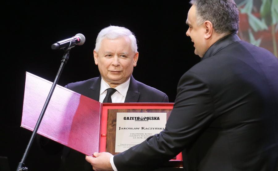 Jarosław Kaczyński Człowiekiem Roku \