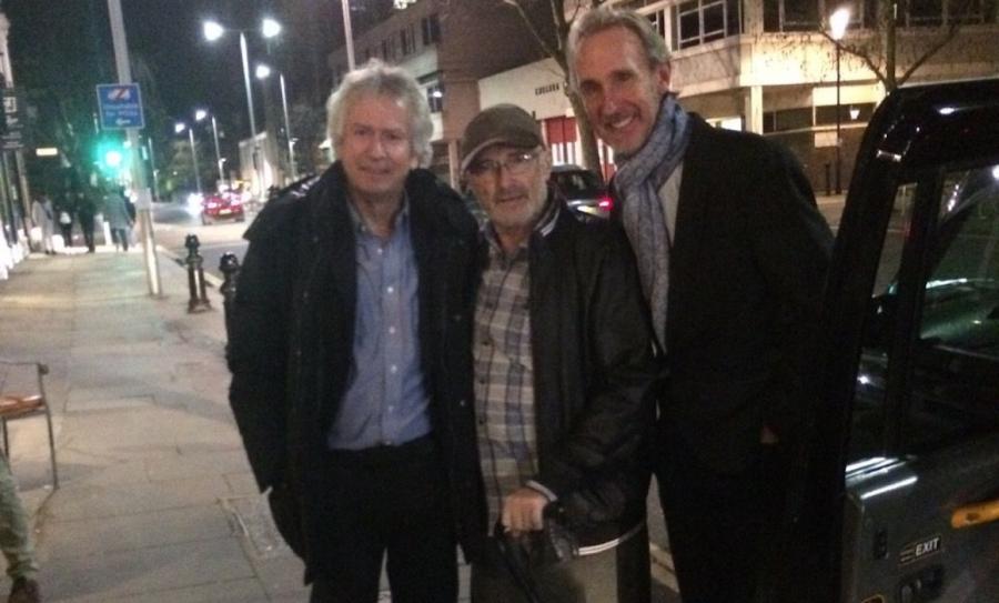 Tony Banks, Phil Collins i Mike Rutherford urodzinowo