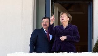 Angela Merkel w Turcji