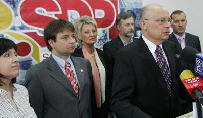 SdPl się wyludnia, Borowski oddaje władzę