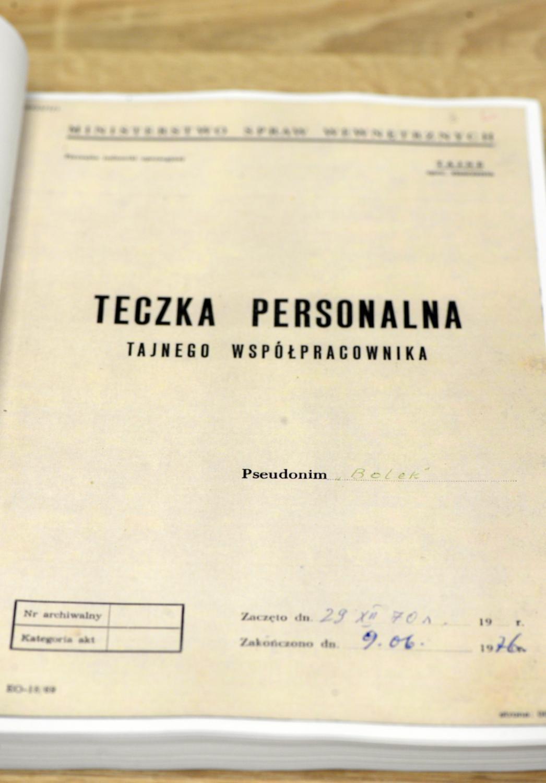 Pierwsza partia dokumentów dotyczących TW \