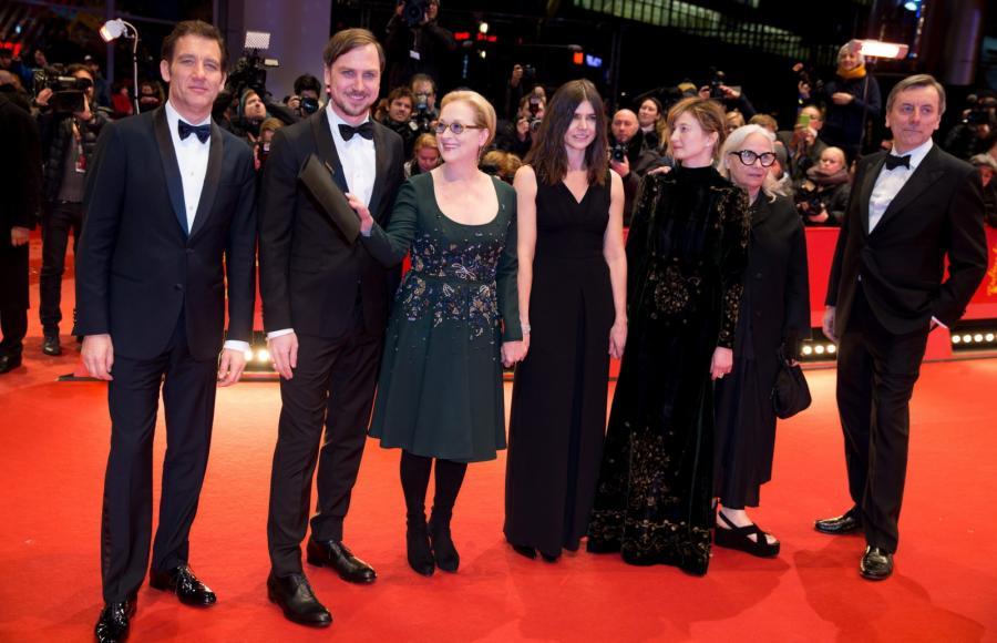 Filmy oceniało jury w składzie: Clive Owen, Lars Eidinger, Meryl Streep (przewodnicząca), Małgorzata Szumowska, Alba Rohrwacher, Brigitte Lacombe i Nick James