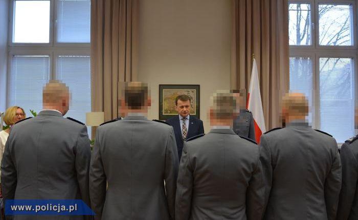 Policjanci, którzy wytropili Kajetana P.