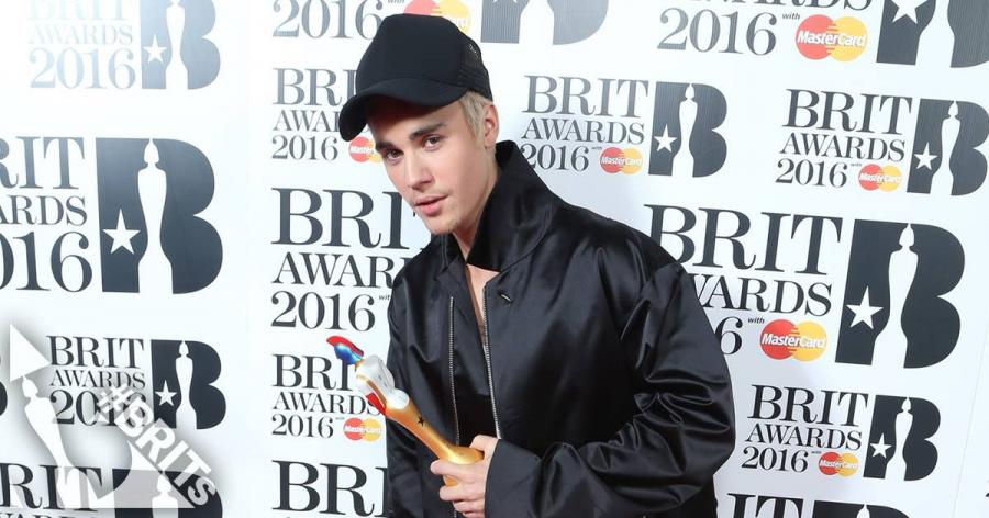 Justin Bieber laureatem Brit Awards 2016