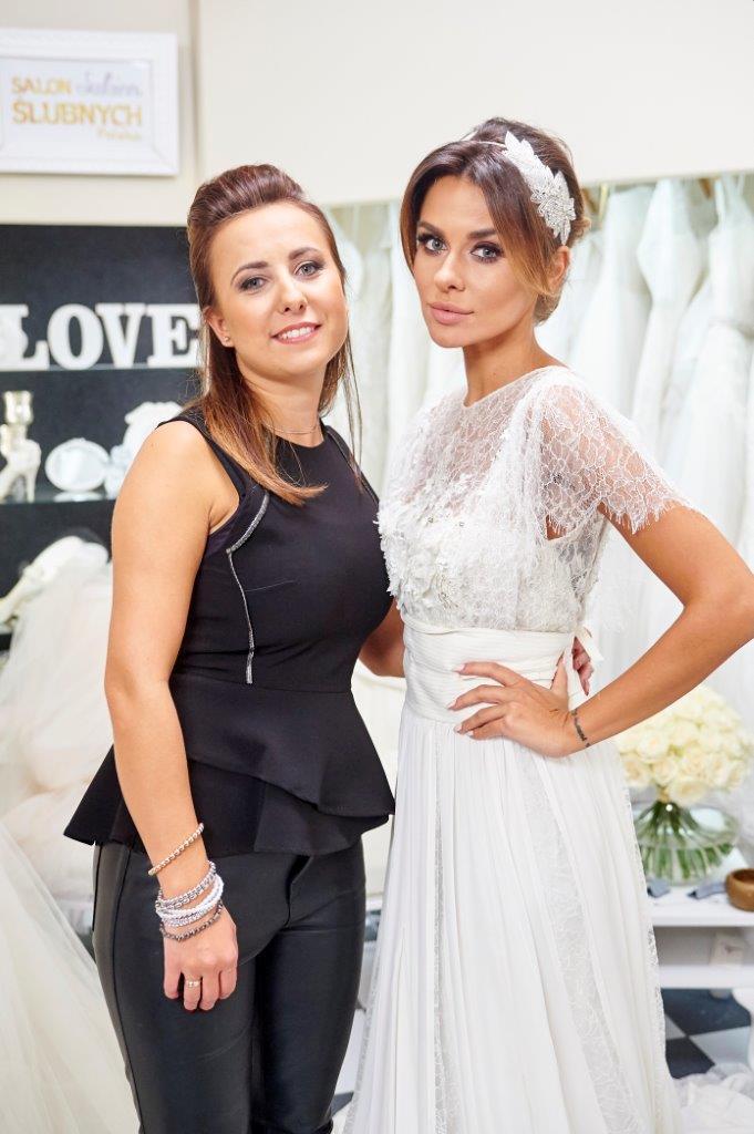 """Natalia Siwiec w programie """"Salon Sukien Ślubnych"""""""
