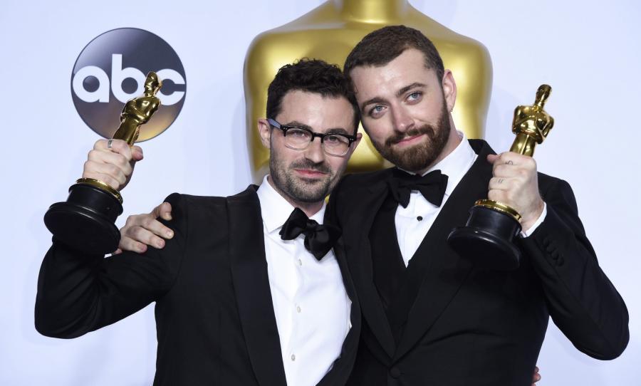 Laureaci Oscara za najlepszą piosenkę – Sam Smith i Jimmy Napes