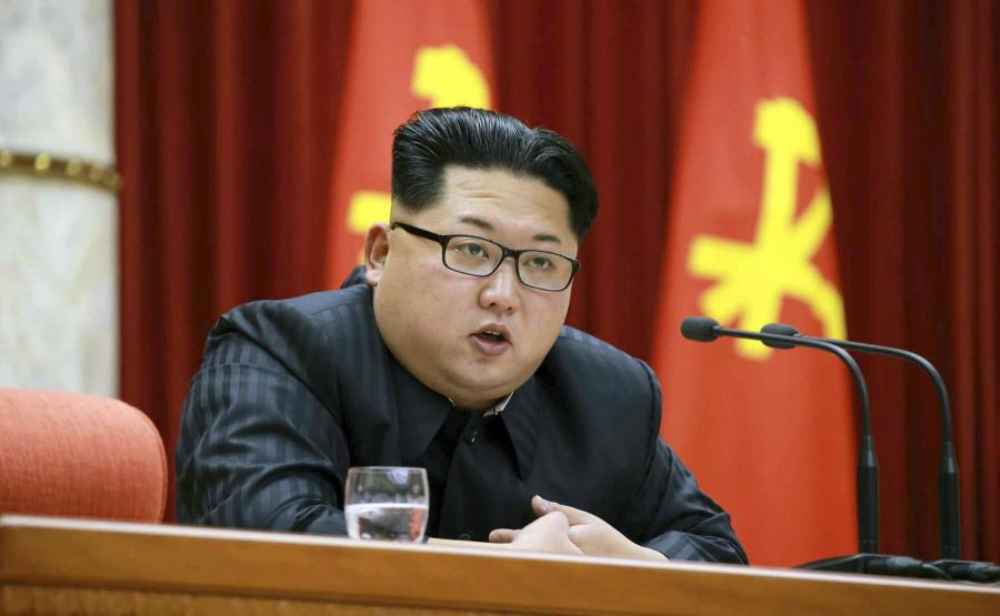 Korea Północna. Kim Dzong Un