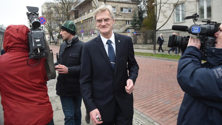 Członek podkomisji smoleńskiej prof. Kazimierz Nowaczyk