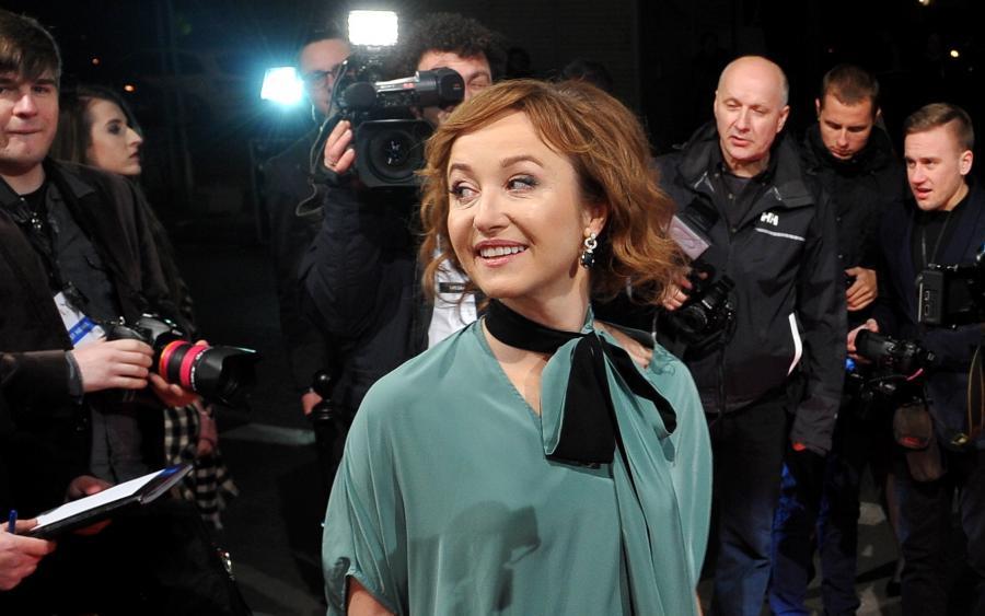 Gabriela Muskała na gali Polskich Nagród Filmowych