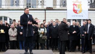 Prezydent Andrzej Duda w Otwocku