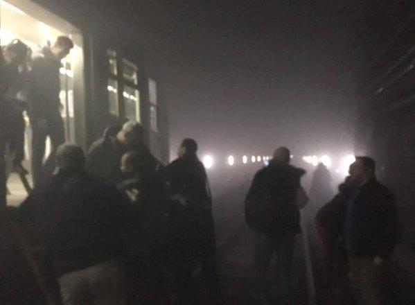 Tunel metra po zamachach w Brukseli
