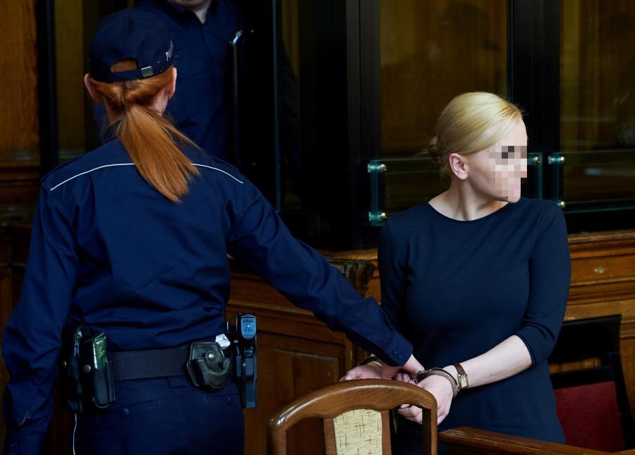 Katarzyna P., oskarżona w sprawie Amber Gold