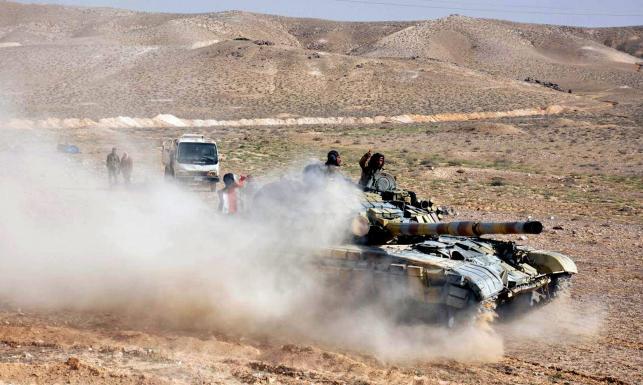 Palmira odbita z rąk dżihadystów z ISIS. Starożytne miasto w ruinie [ZDJĘCIA]
