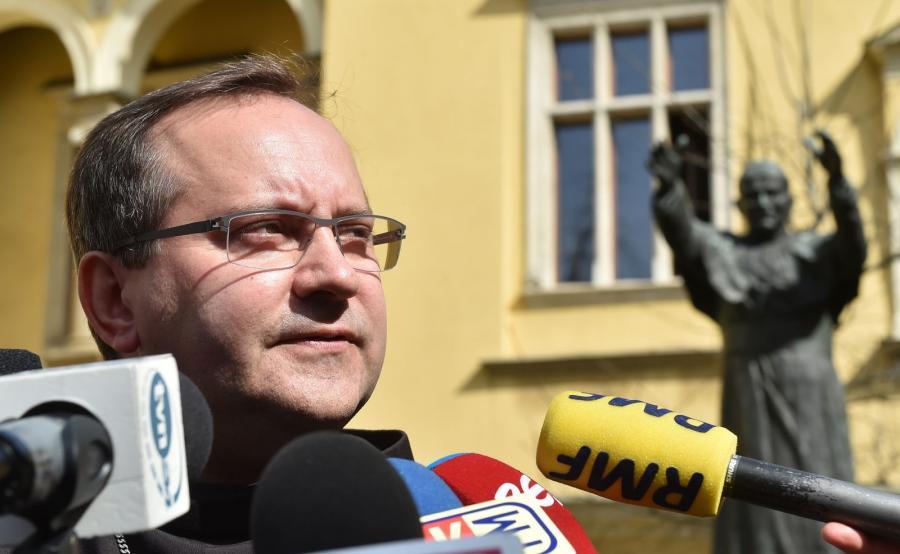 Koordynator generalny Komitetu Organizacyjnego ŚDM Kraków 2016 bp Damian Muskus