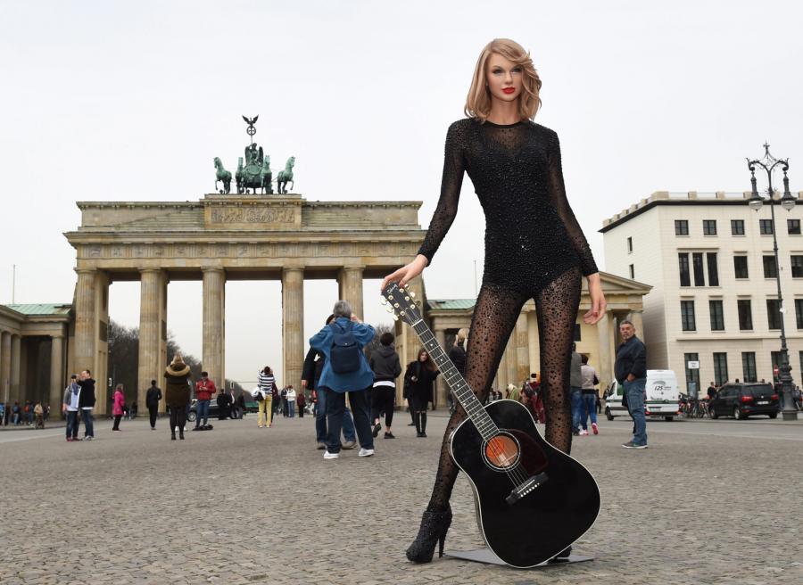Taylor Swift jak żywa, choć z wosku