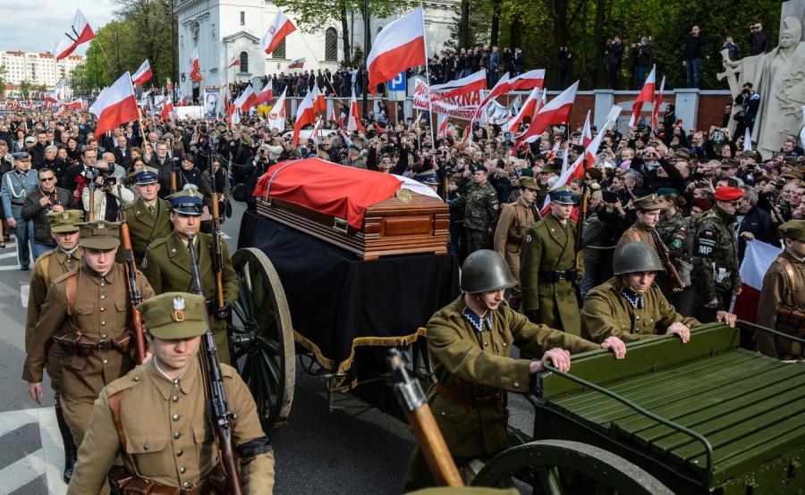 """Pogrzeb płk. Zygmunta Szendzielarza """"Łupaszki"""""""
