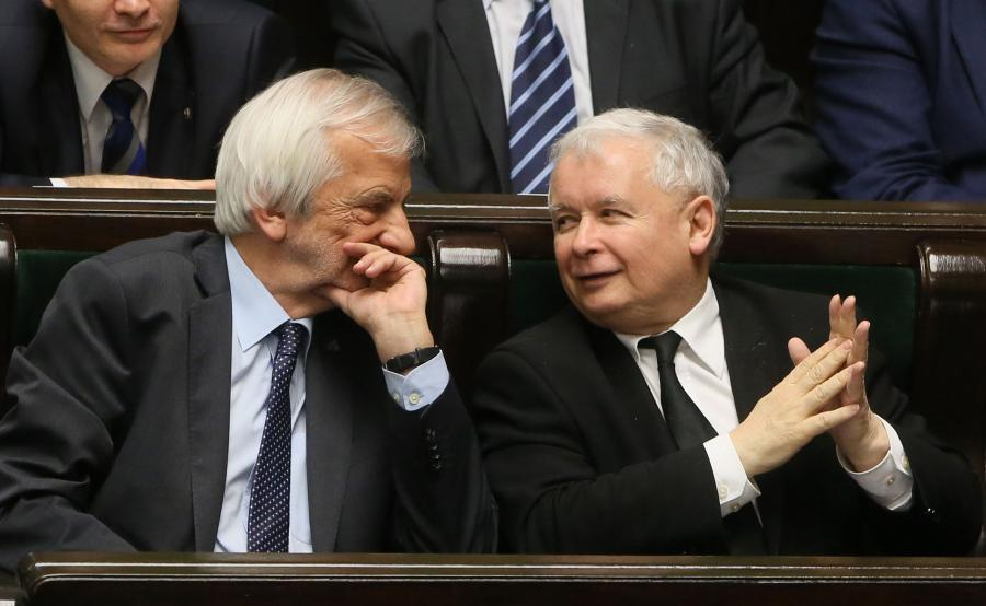 Jarosłąw Kaczyński i Ryszard Terlecki