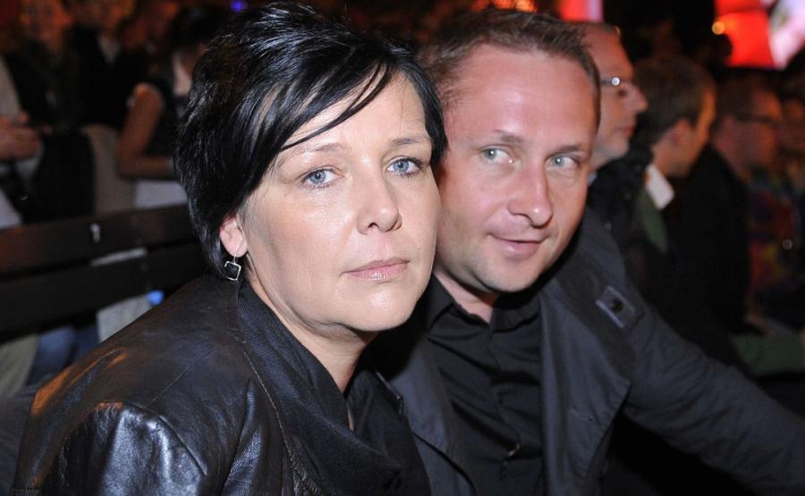 Kamil Durczok z żoną Marianną